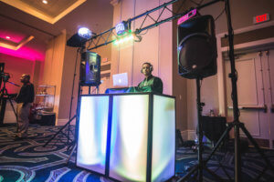 DJ Booth at Sheraton at Lake Buena Vista Resort