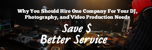 Image with Text about saving money on DJ services