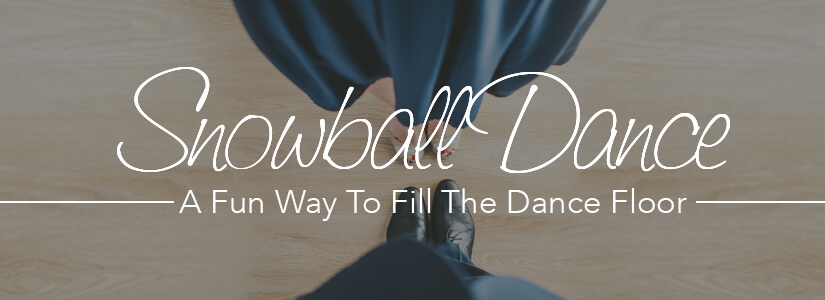 Snowball Dance at Weddings & Sweet 16s