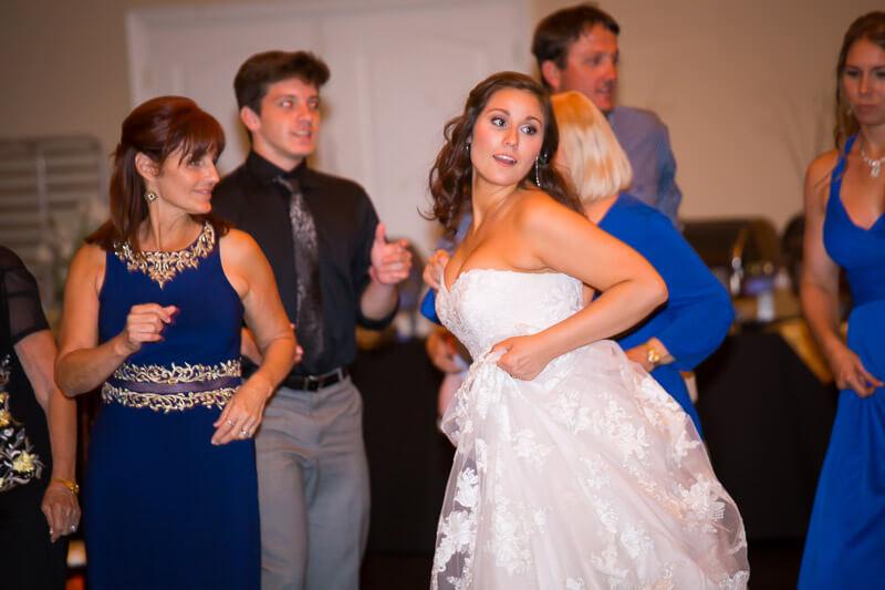 Bride Dancing at Grand Oaks Resort