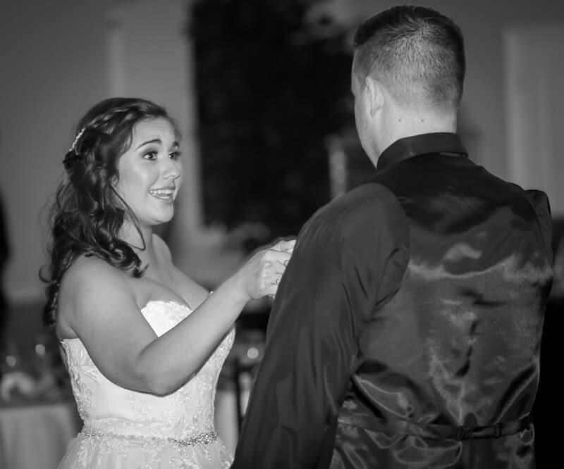 Bride & Groom Dancing atGrand Oaks Resort