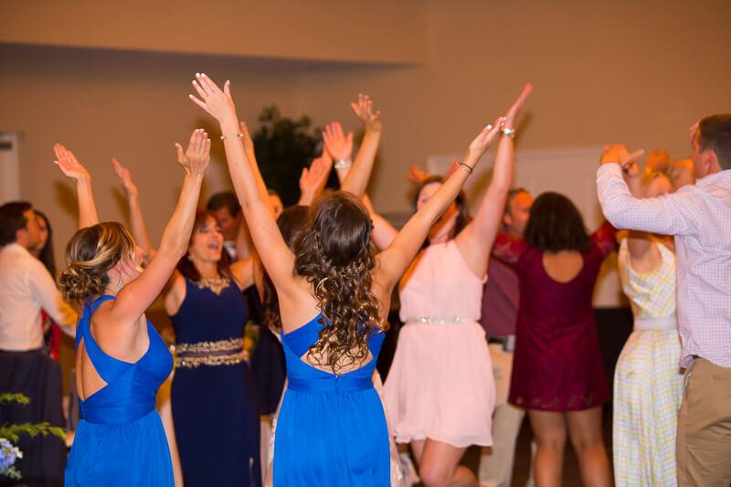 Crowd Dancing at Grand Oaks Resort