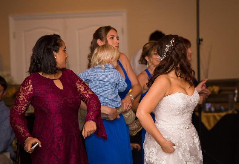 Dancing at Grand Oaks Resort
