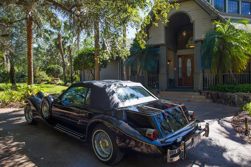 Floridian Manor Estate Wedding Car