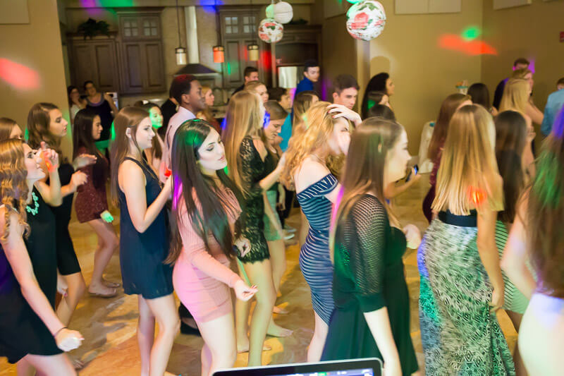 Dancing at Live Oak Clubhouse