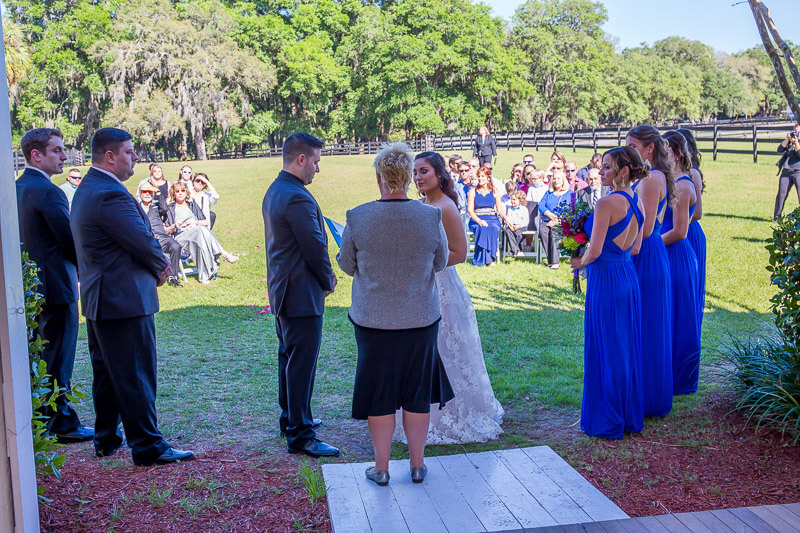 Wedding Ceremony at The Grand Oaks Resort