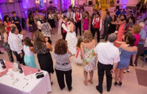 Wedding Reception Dancing Circle
