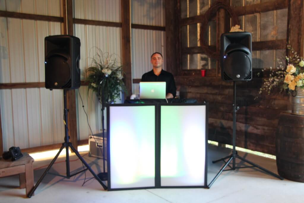 Best Choice DJs DJ Booth at 3M Ranch and Events