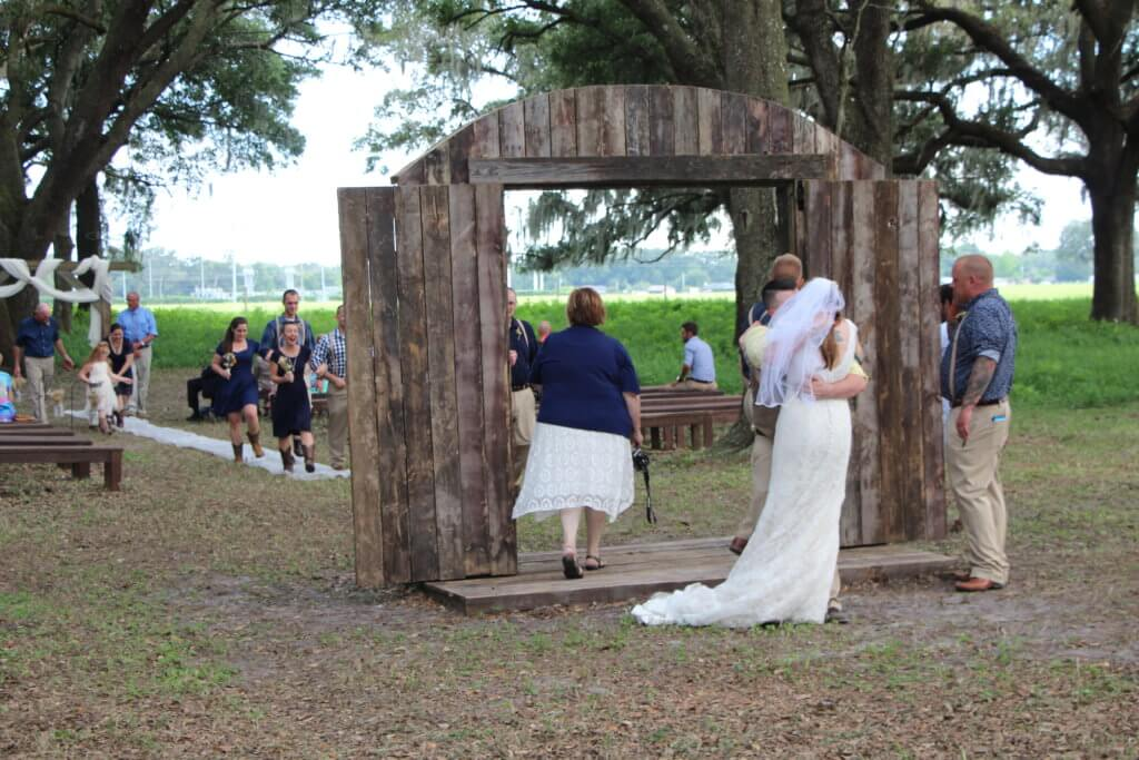 Wedding Ceremony in Bushnell