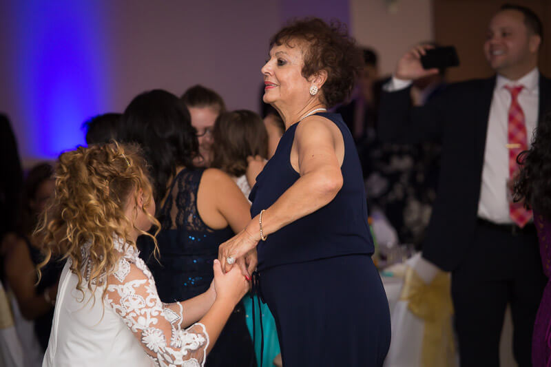 Family Dancing at Quinceañera