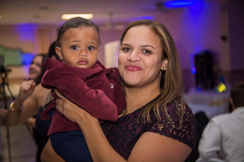 Mother & Child at Sociedad Cubana De Orlando