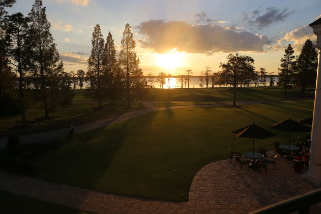 Sunset at Lake Nona Golf & Country Club