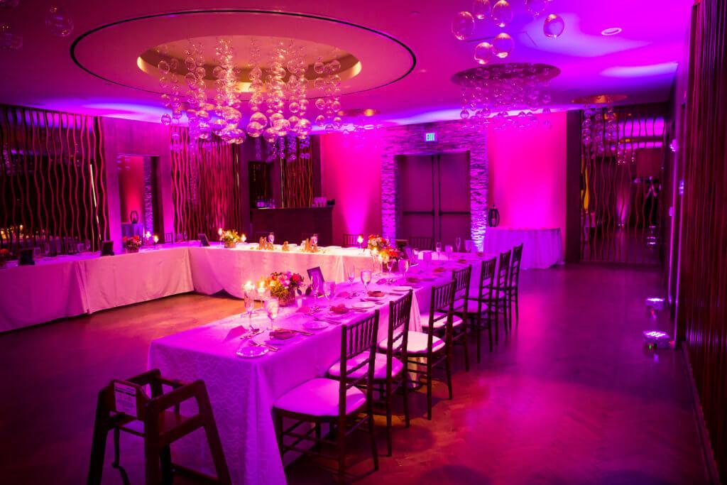 Wedding DJ Uplighting